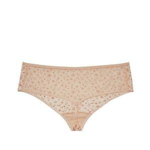 Victoria/'s Secret Dream Angels Mid Rise Thong Panty S M L Black Silver Stars